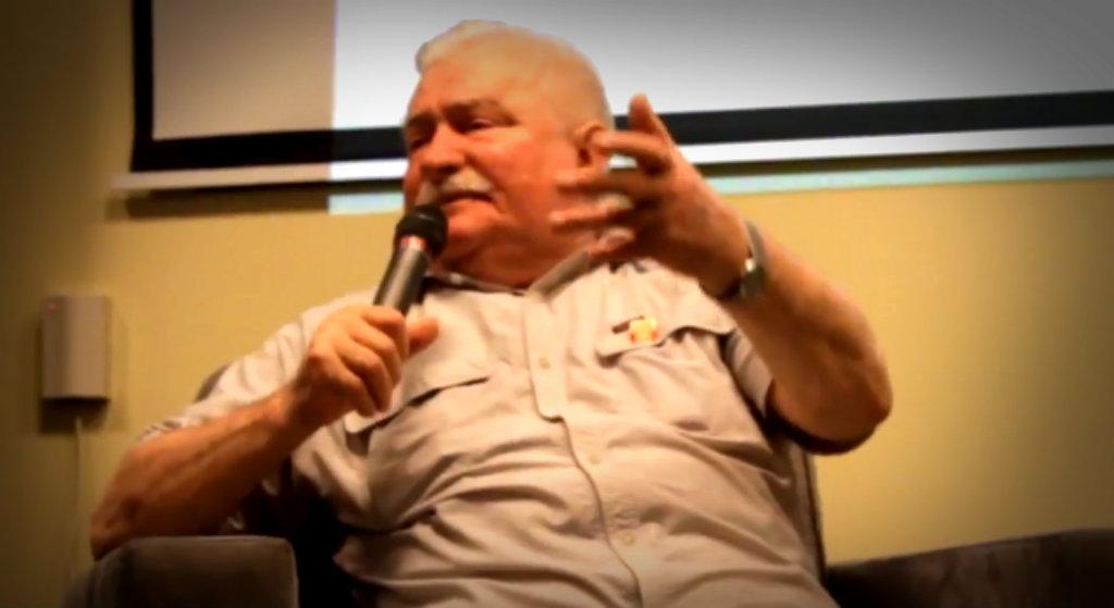 Lech Wałęsa wstrząsnął krajem. Wskazał ubeckie korzenie idola prawicy