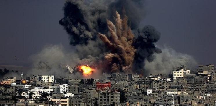 Izrael zaatakował Palestynę