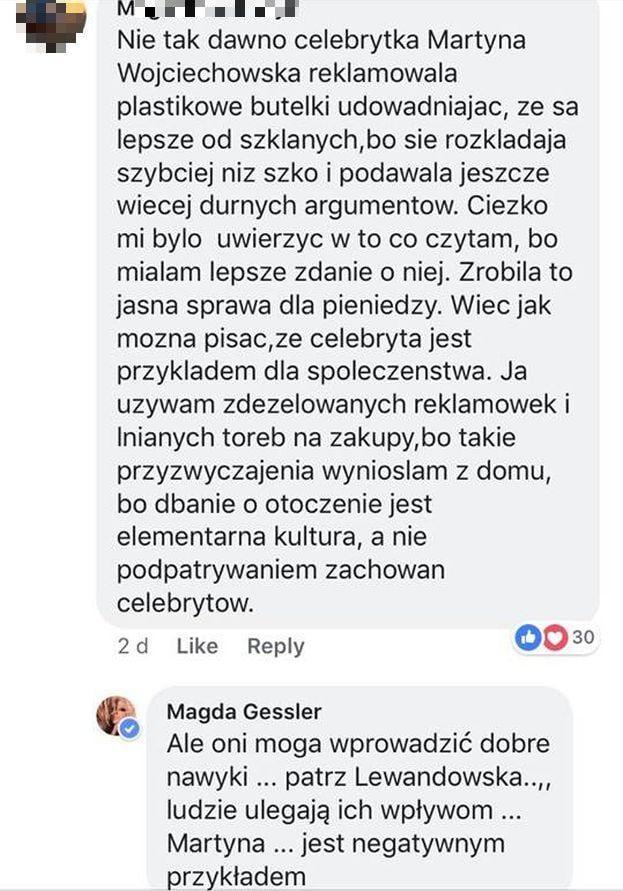 Magda Gessler, Martyna Wojciechowska
