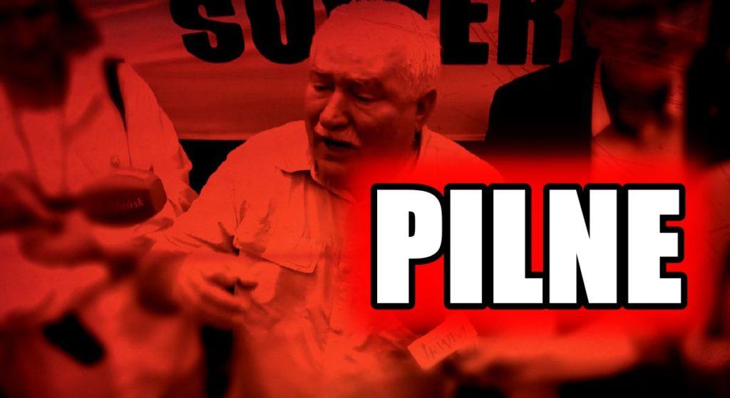 Robi się bardzo GORĄCO. Tysiące Polaków wychodzą na ulice, Wałęsa wyciąga BROŃ PALNĄ