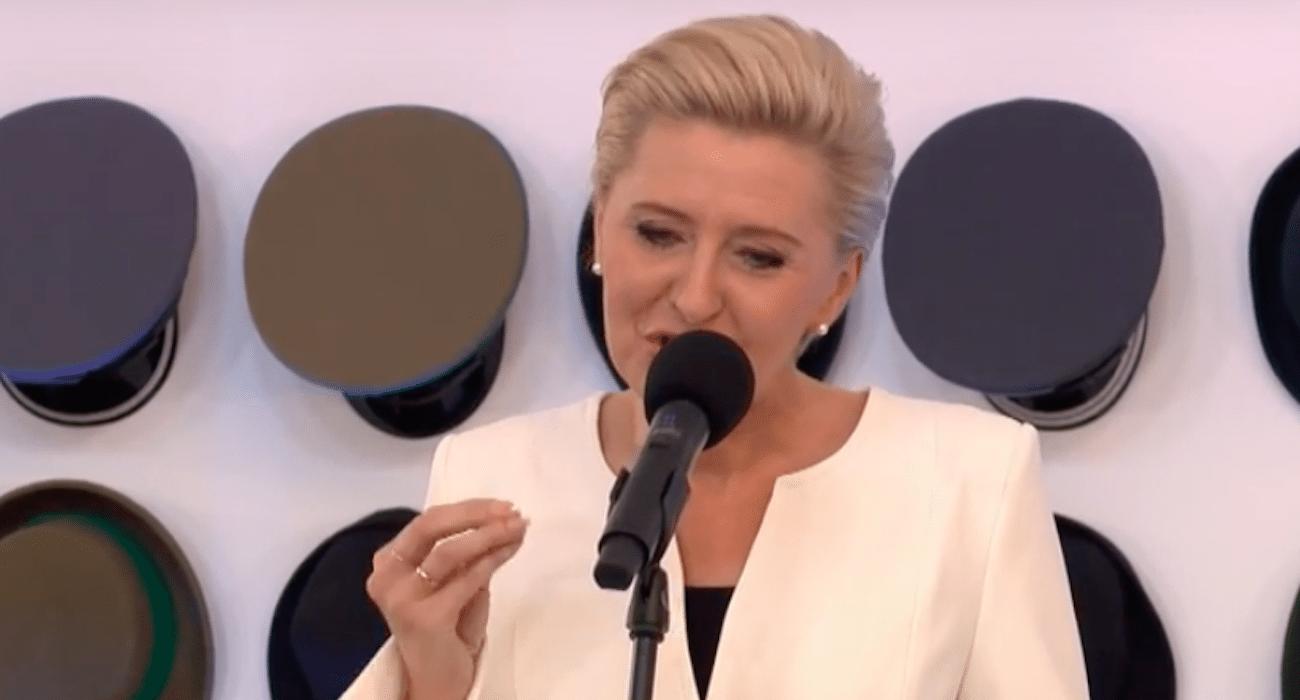 Dziennikarka opluła Agatę Dudę! Pierwsza dama nigdy tego nie zapomni