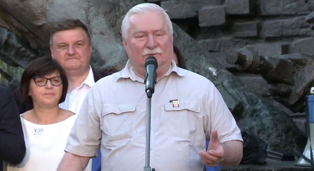 """Wałęsa grozi Kaczyńskiemu! """"Ty tchórzu"""""""
