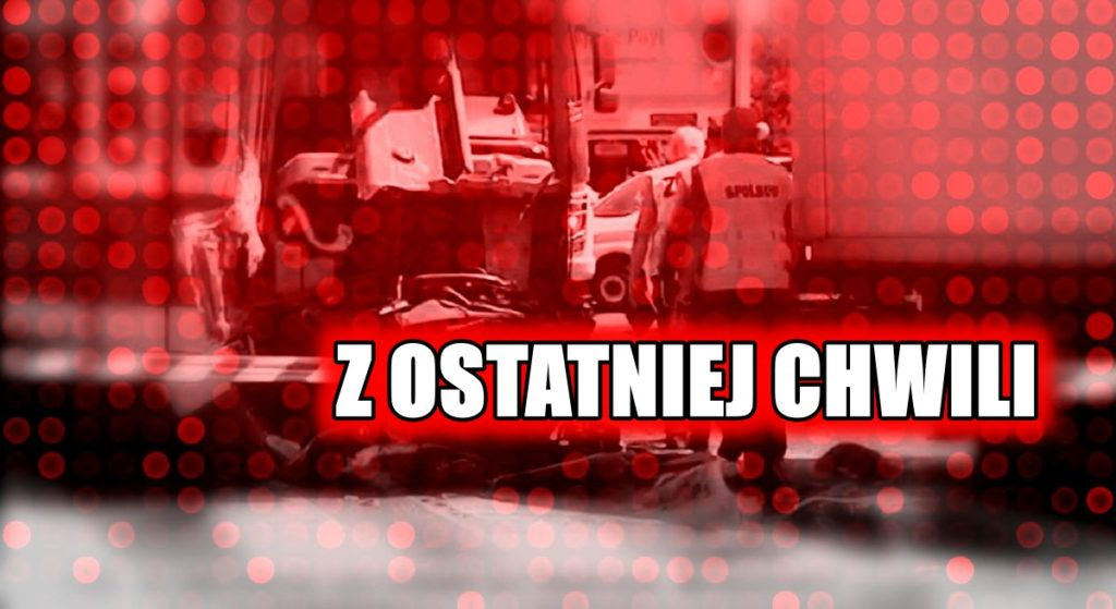 Tragedia w Polsce! Kilkunastu rannych, miasto zablokowane