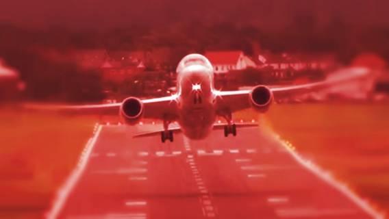 Horror w samolocie! Na pokładzie gwiazdy Polsatu