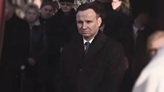 Pogrzeb złamał serce Dudy. Agata była dla niego największym wsparciem