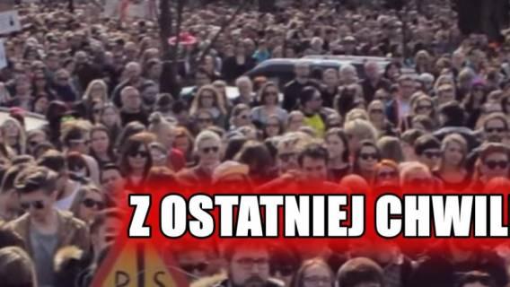 Setki ludzi przyszły pod Sejm! PiS próbuje ekspresowo przepchnąć kontrowersyjną ustawę
