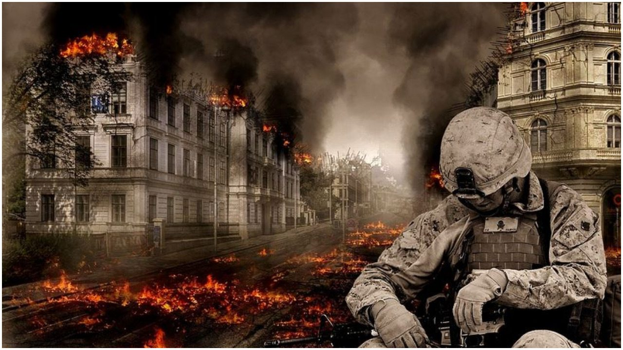 Armia zaatakowała miasto własnego państwa! Wojna na ulicach, zajmują dzielnice