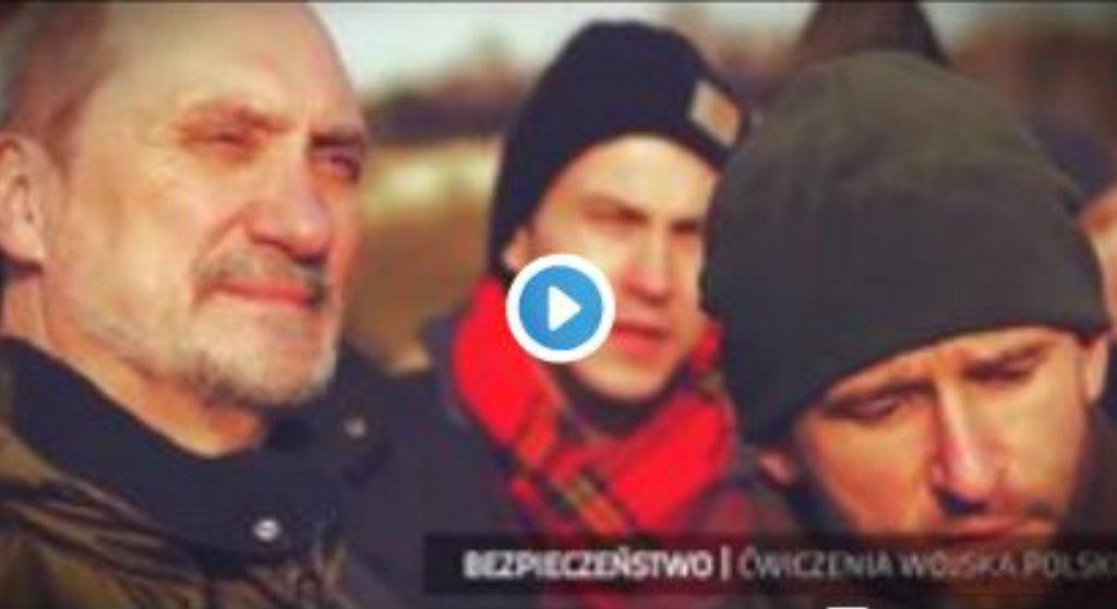 Antoni Macierewicz robiący salto to nic. Misiewicz opublikował kolejne nagranie