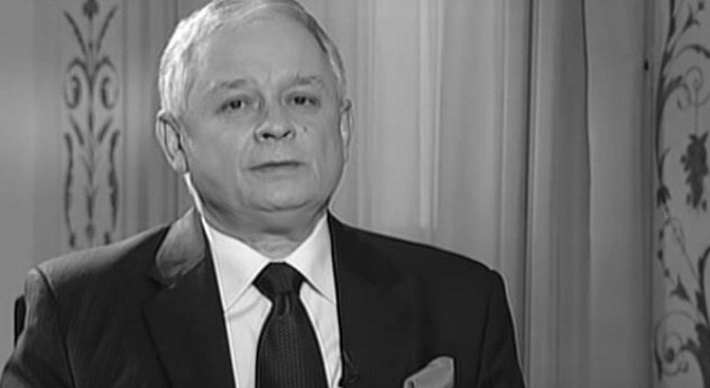 """Lech Kaczyński w """"Wiadomościach"""" TVP. Widzowie oniemieli"""