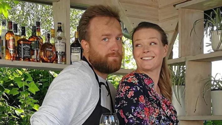 Tamara Arciuch z mężem