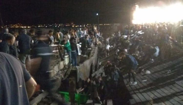 Festiwal nagle zamienił się w piekło. 300 osób rannych, trwa walka z czasem