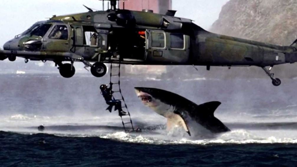 Helikopter i rekin