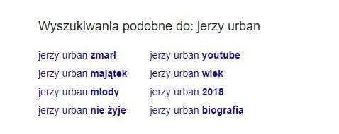 Czy Jerzy Urban nie żyje?