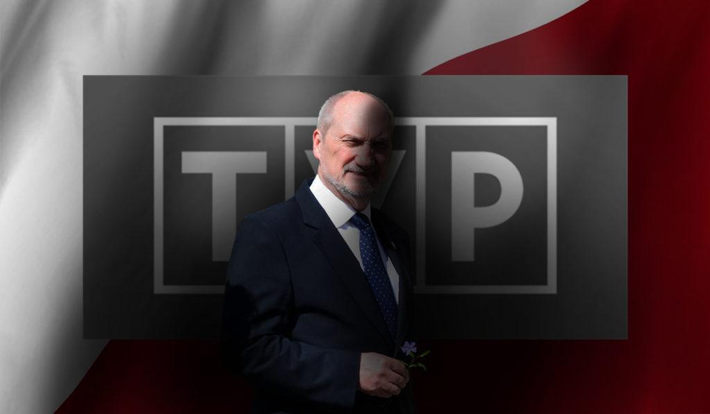 Media: Antoni Macierewicz przejmuje TVP