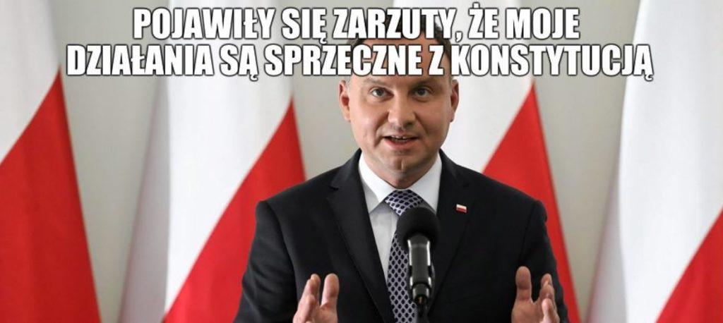 MEMY z okazji trzylecia prezydentury Andrzeja Dudy