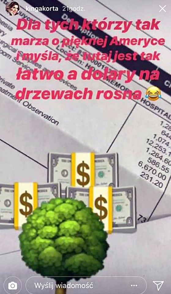 Kinga Korta. TVN