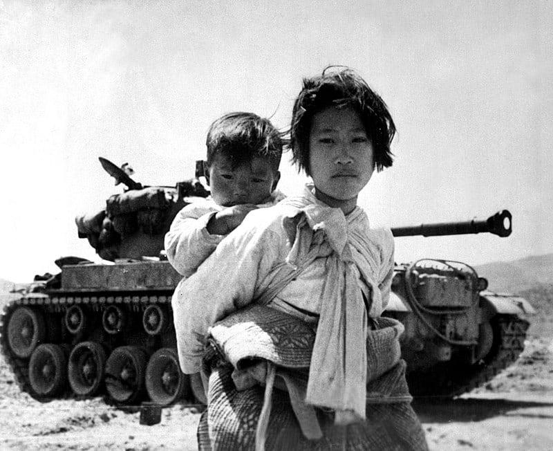 Koreańscy cywile