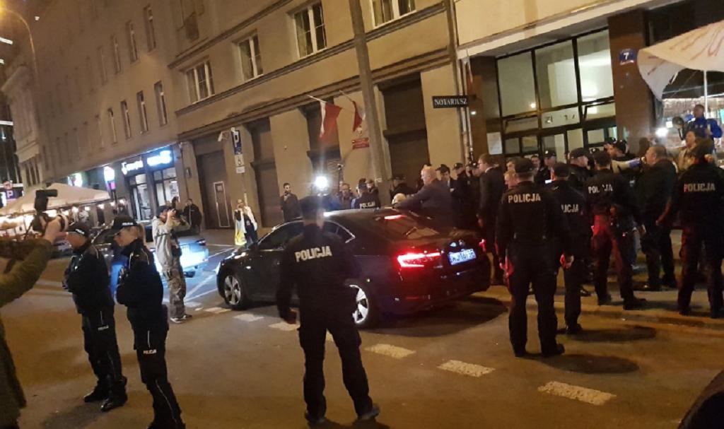 Kaczyński przyłapany! Dziennikarz zdążył zrobić zdjęcie