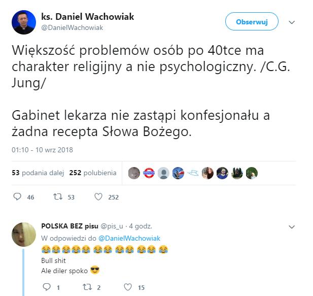 ksiądz Daniel Wachowiak