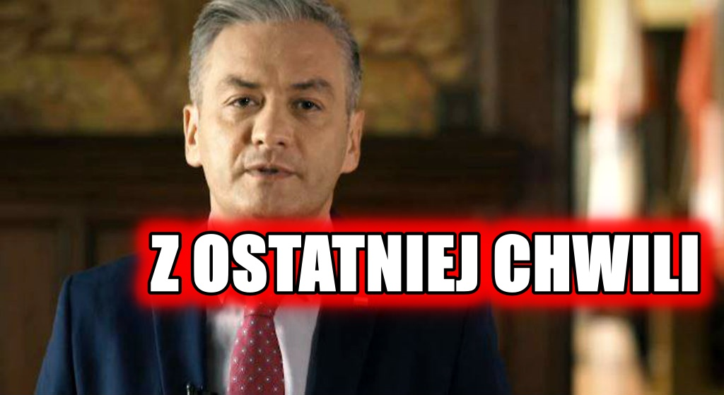 OFICJALNIE. Biedroń wydał specjalne oświadczenie ws. wyborów