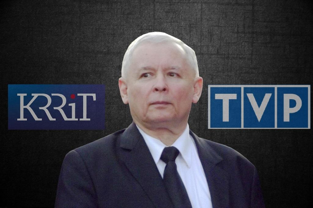 Bezczelność PiS. Szef KRRiT i dziennikarka TVP na ich listach wyborczych