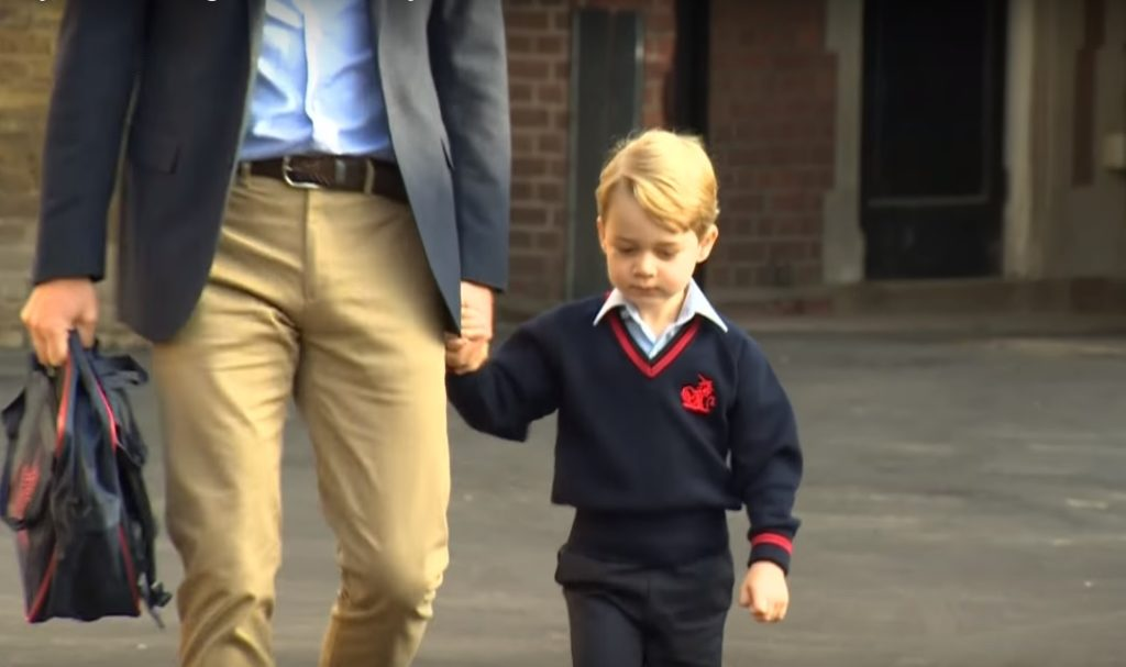 To za dużo jak dla 5-letniego księcia George'a. Brytyjczycy współczują