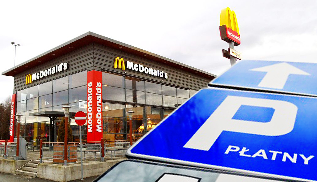Nowe zasady w McDonalds. Nawet 95 złotych za parkowanie pod ich restauracjami