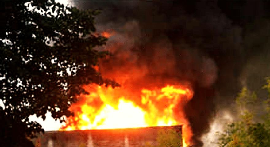 Ogromny pożar w dużym, polskim mieście. Kilometry toksycznego dymu