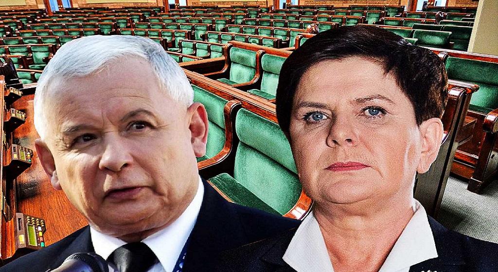 Co za upokorzenie. Kaczyński został ZMUSZONY, żeby zrobić z Szydło premiera