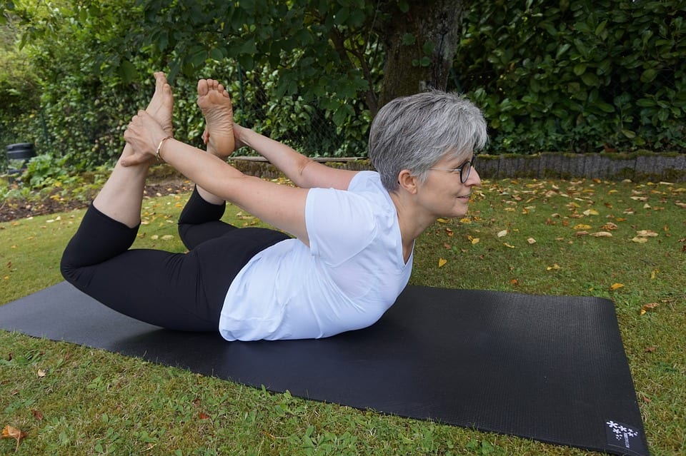 Grass Lifestyle Park Human Ease Nature Yoga