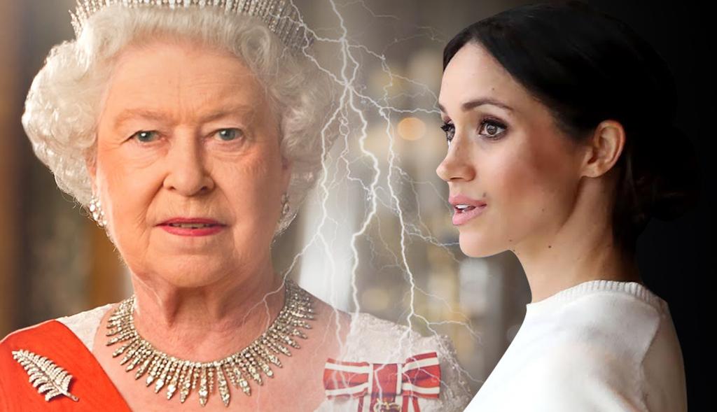 Meghan Markle złamała protokół! Królowa będzie wściekła