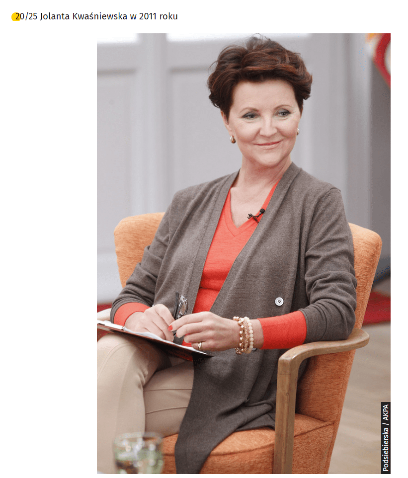 Jolanta Kwaśniewska Zmieniła Się Nie Do Poznania Wygląda