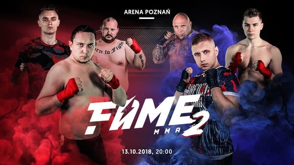 Makabryczne sceny na FAME MMA 2! Koszmarny uraz Daniela Magicala
