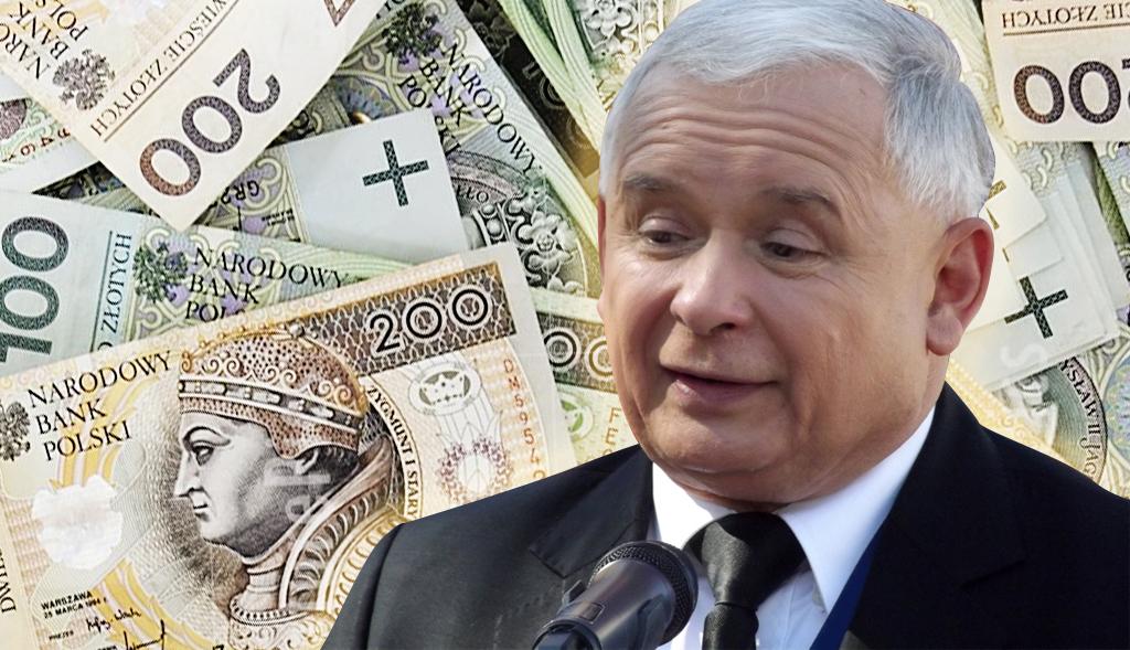 Kaczyński nie pracuje, a zarabia fortunę. Opadną wam szczęki!
