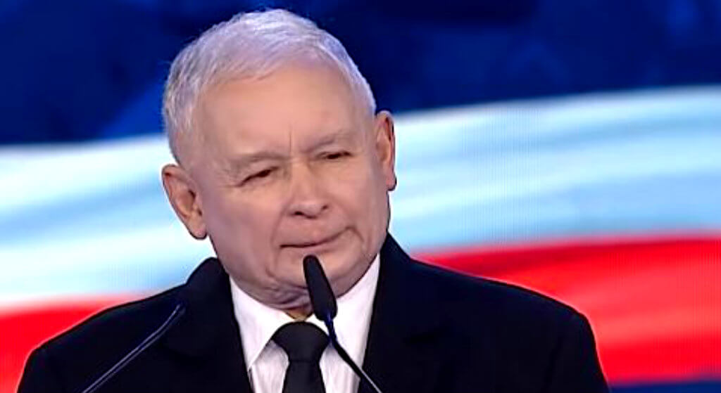 """Kaczyński na konwencji PiS: """"Przyznam się do grzechu"""""""