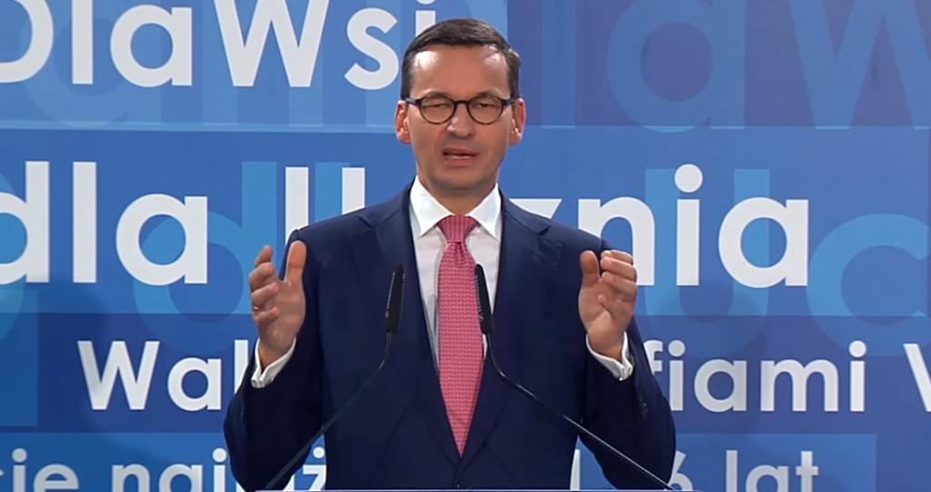 Przyłapali Morawieckiego! Wyborcy mu tego nie wybaczą
