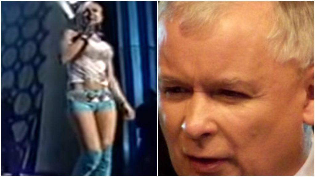"""""""Dyktator, ale stylowy"""". Kaczyński zadał szyku niczym Doda dekadę temu"""