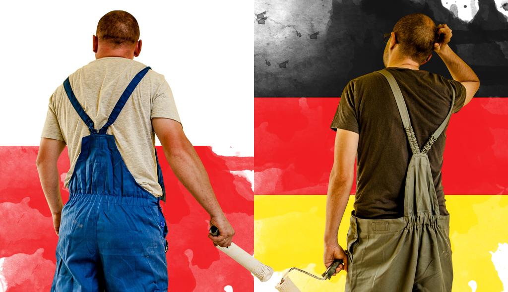 Pracownik w Polsce i w Niemczech