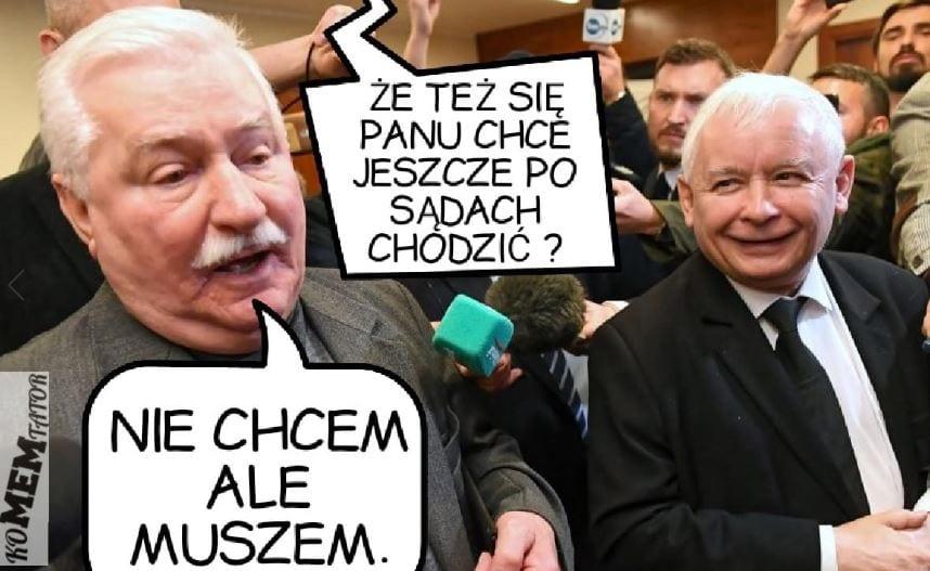 Wałęsa i Kaczyński