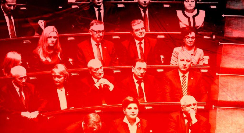 Żenująca kompromitacja! Spanikowany minister PiS uciekł z Sejmu