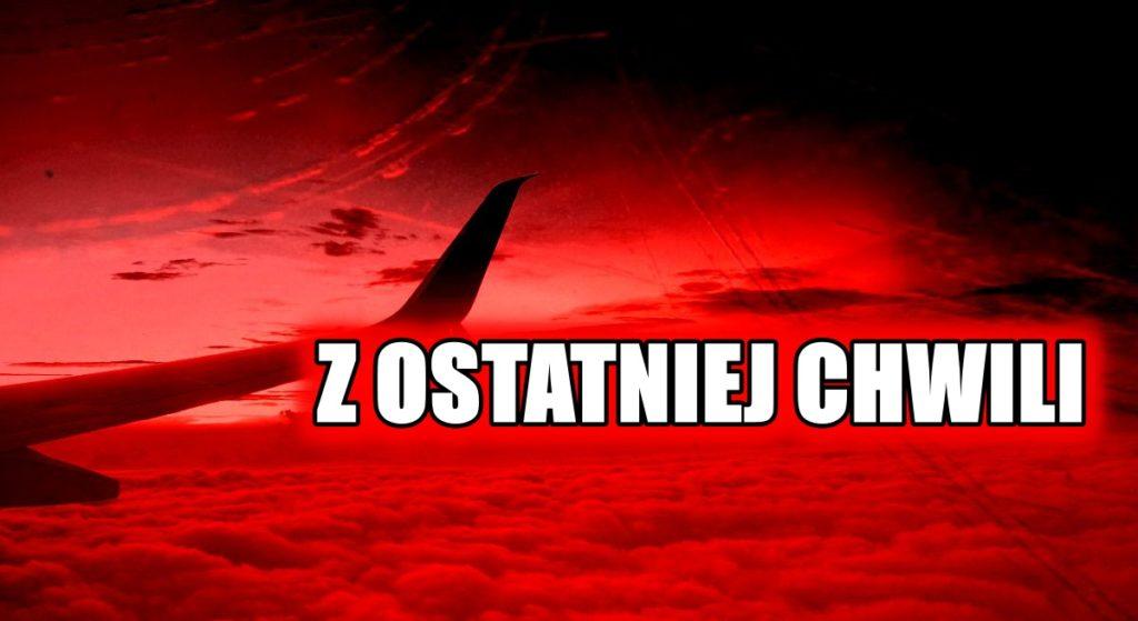 Katastrofa! Dwa samoloty zderzyły się w powietrzu