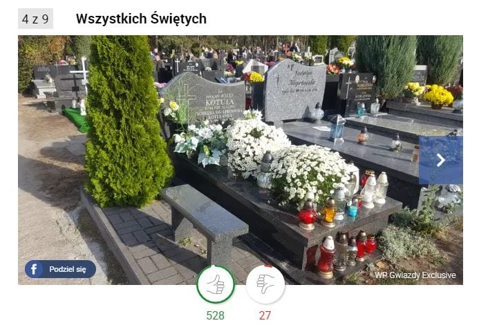 Agnieszka Kotulanka grób