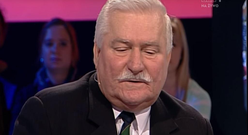 Lider prawicy: Lech Wałęsa to kretyn