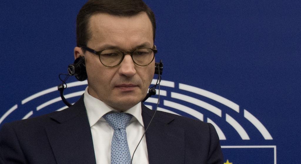 Międzynarodowy skandal z Morawieckim! On naprawdę to powiedział