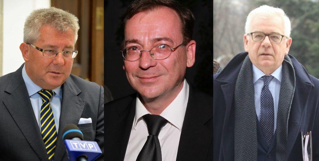 Kamiński, Czaputowicz, Waszczykowski