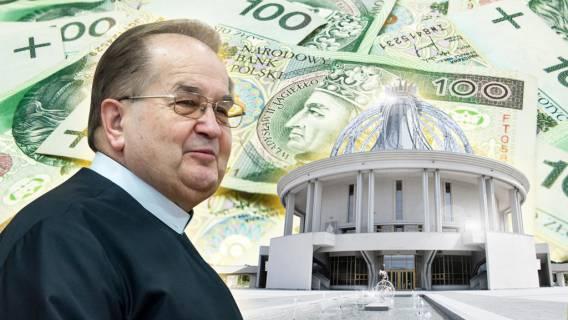 Rydzyk dostał potężne pieniądze od rządu! Ozłoceni dziennikarze