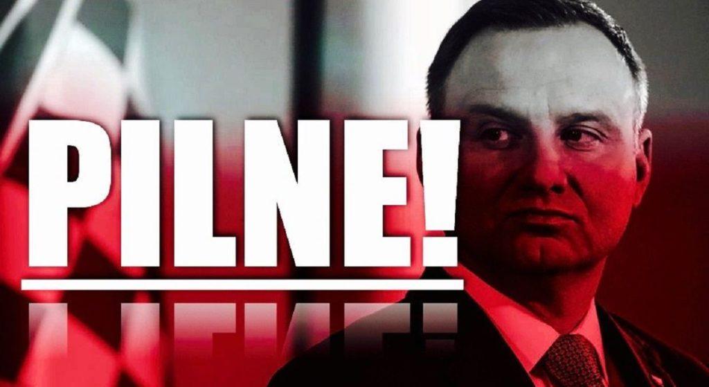 Andrzej Duda zaatakowany przez mężczyznę! SOP w panice interweniował