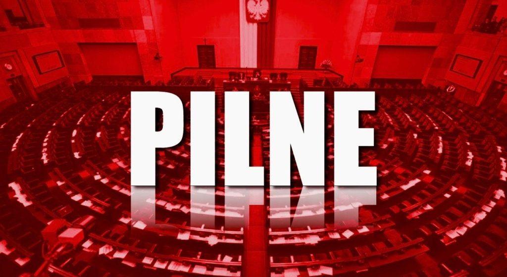 Zaraz specjalne głosowanie w Sejmie! PiS chce przepchnąć szokującą ustawę