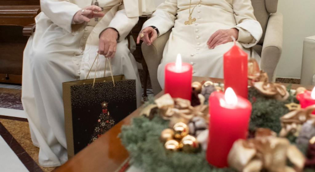 Wygląd Benedykta XVI przeraża! Wstrząsające zdjęcia z Watykanu