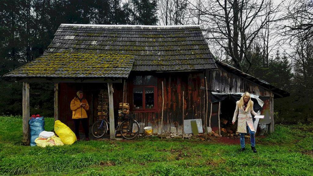 Ma 80 lat. Mieszkała w starym zniszczonym szałasie. W ciągu 6 dni odmienili jej życie